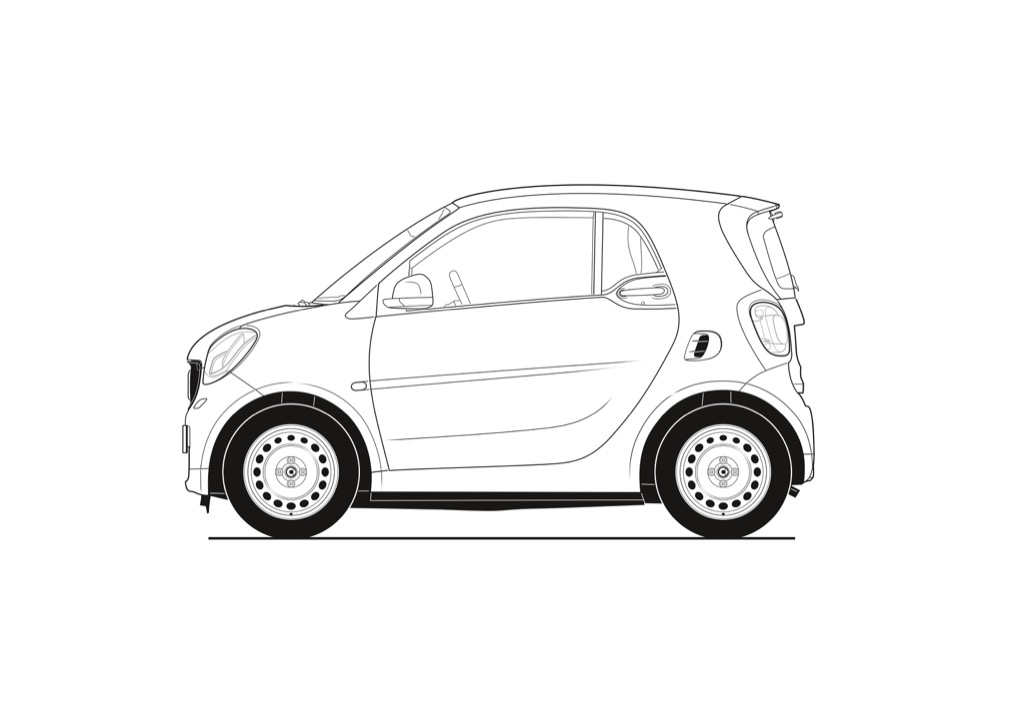 smart fortwo, BR W453, 2014