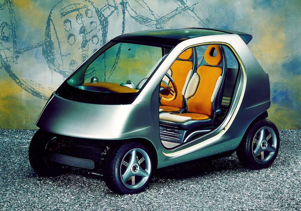 smart fortwo design prototypen