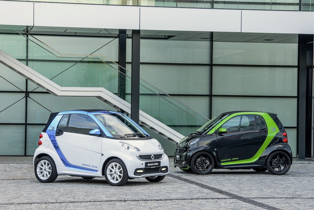 smart electric drive & smart BRABUS electric drive