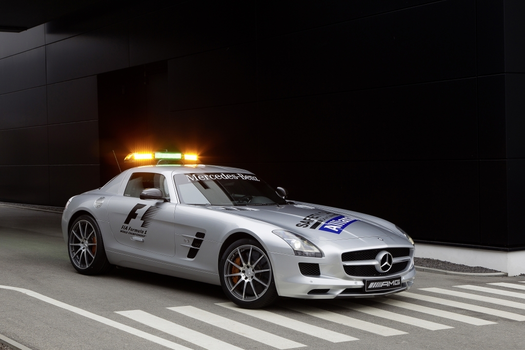SLS 63 AMG, Safety Car (R 197) 2012
