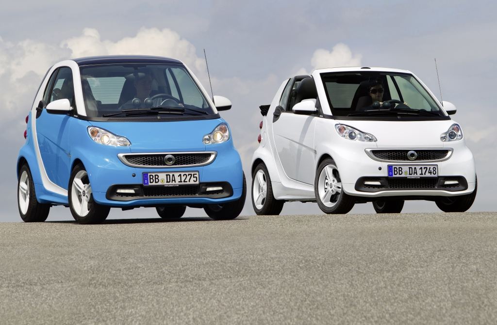 smart fortwo edition iceshine 2012