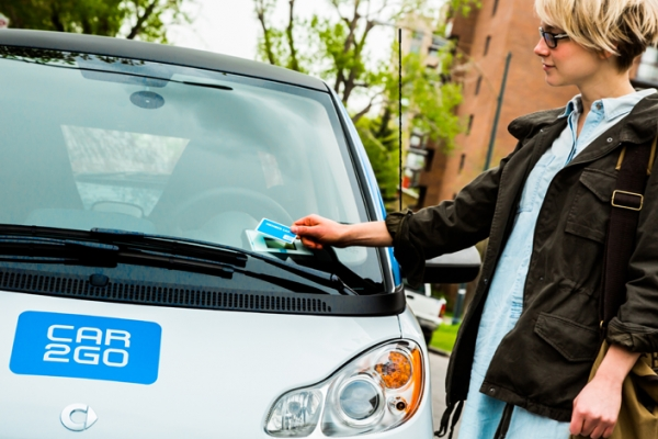 smart fortwo car2go edition
