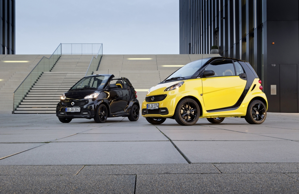 smart fortwo cityflame, 2012