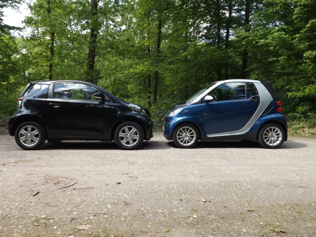 Smart Vs Toyota Iq