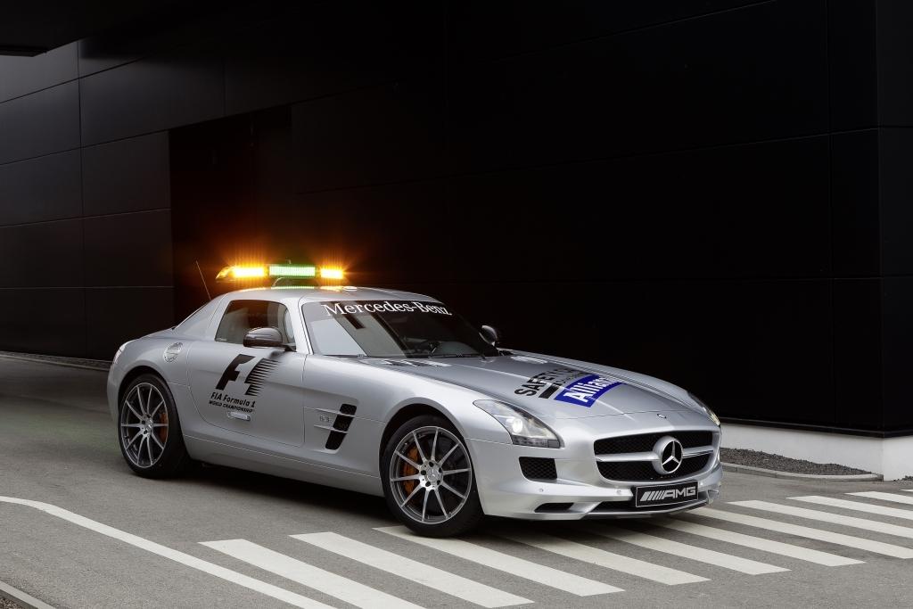 SLS 63 AMG, Safety Car (R 197) 2012