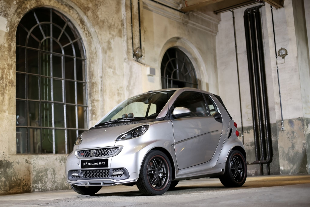 smart BRABUS 10th anniversary Sondermodell