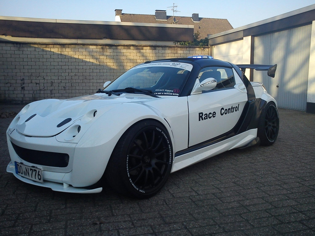 smart roadster Race Control Car