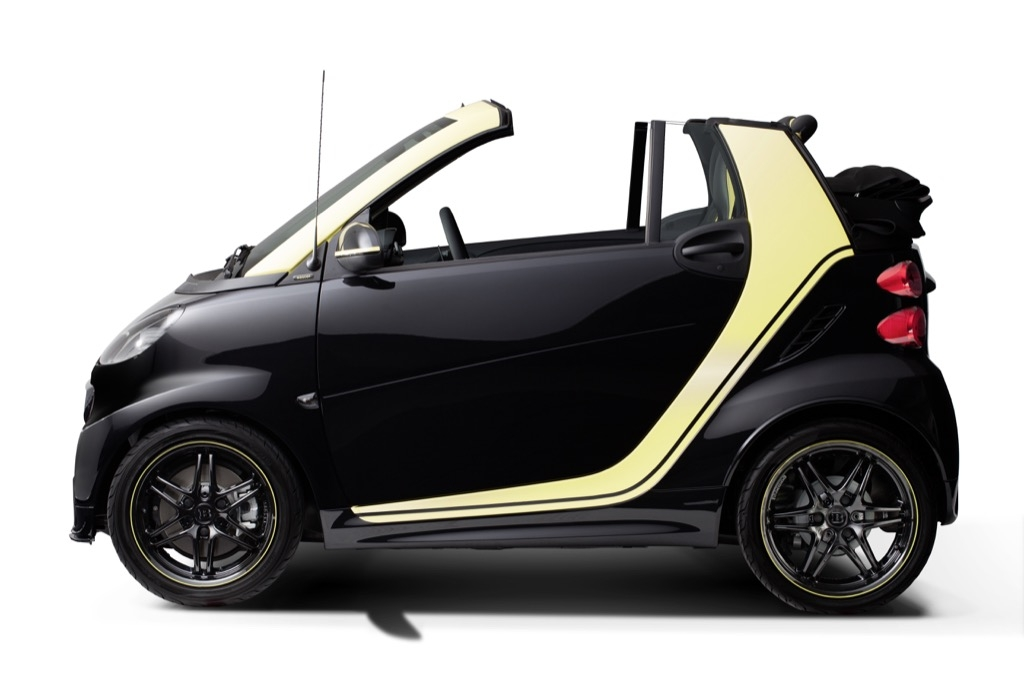 smart fortwo edition MOSCOT, 2015