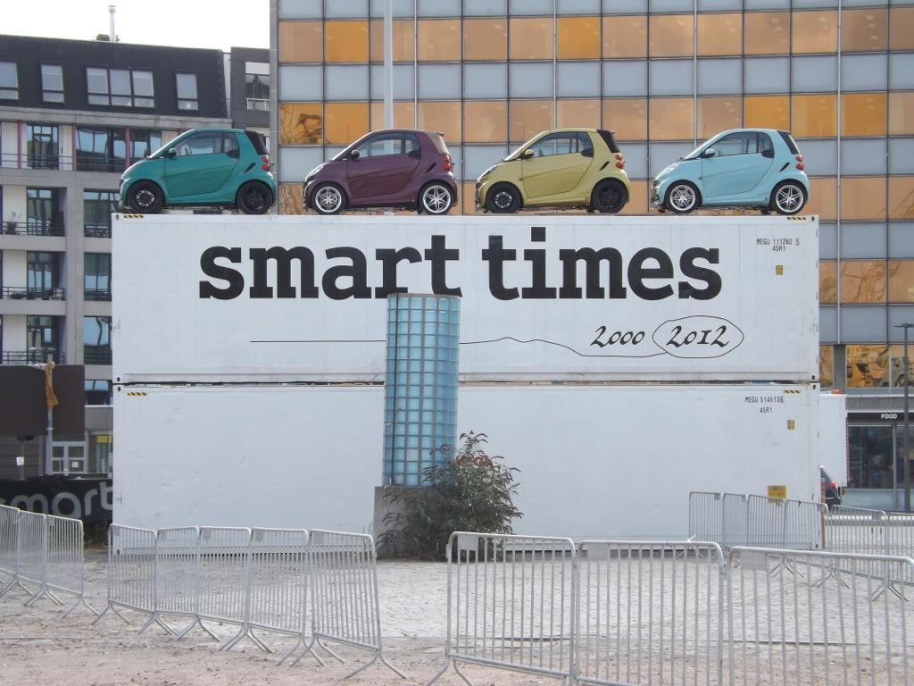 smart times 2012 - Erster Eindruck