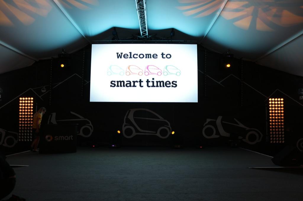 smart times 2013 Eröffnung