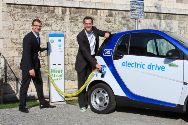 car2go electric drive Ulm
