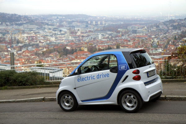 fortwo electric drive von car2go in Stuttgart