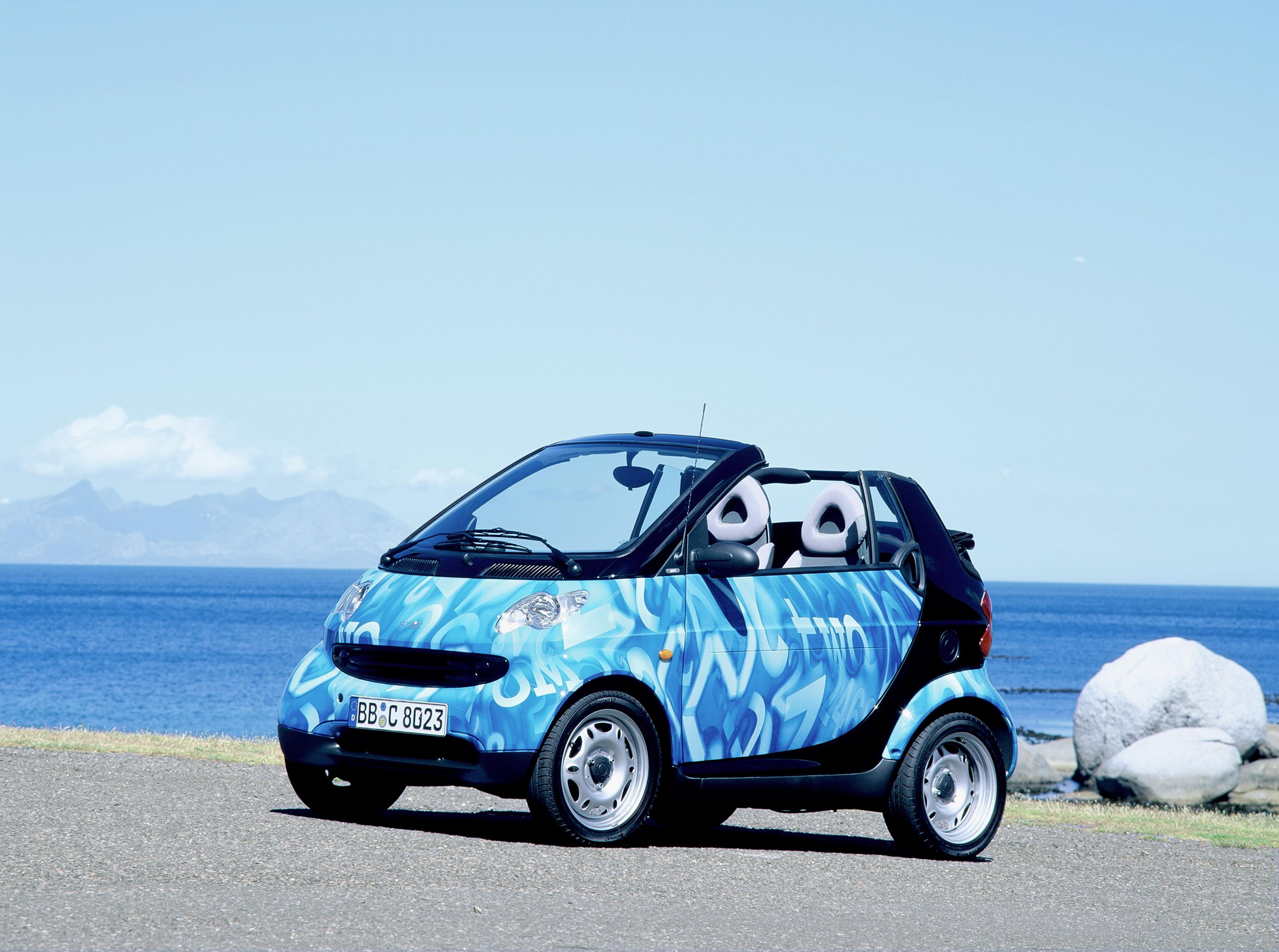 smart fortwo cabrio, 2001, erste Generation
