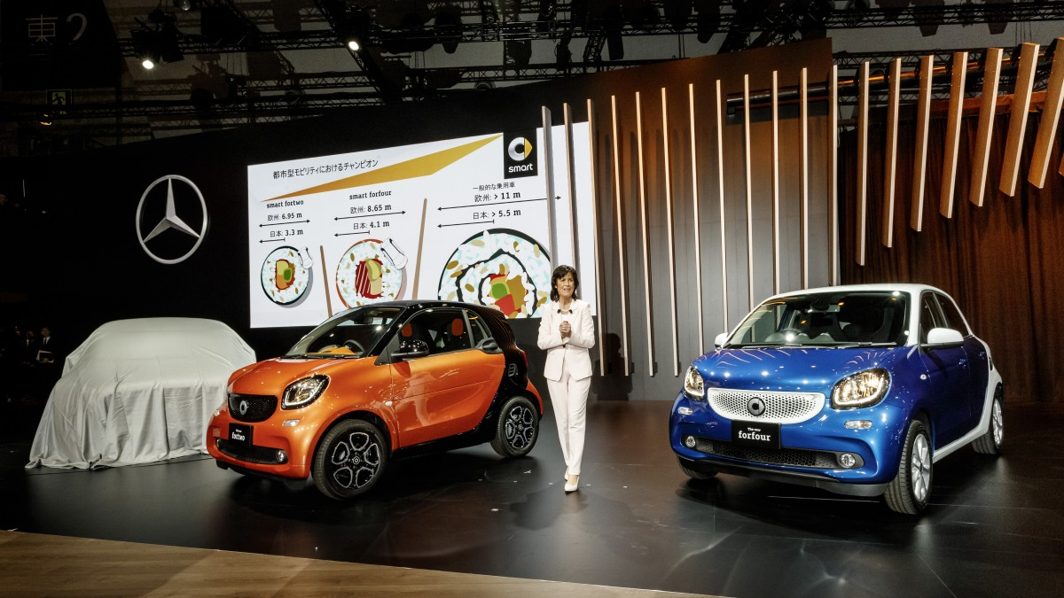 smart fortwo und forfour feiern Japan-Premiere auf der Tokyo Motor ...