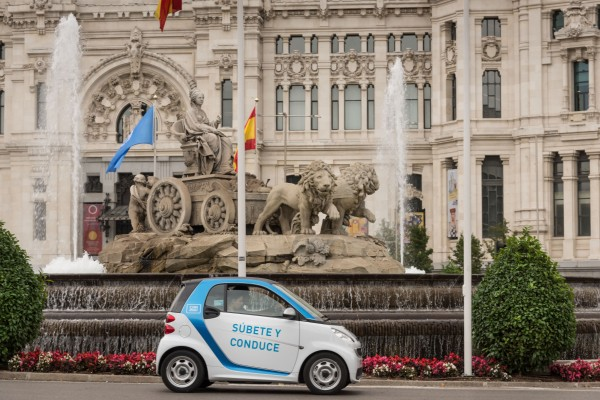 car2go in Madrid, Spanien